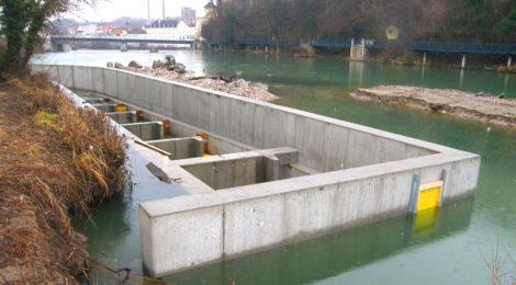 Steyr, Fischaufstiegshilfe Haindlmühlwehr