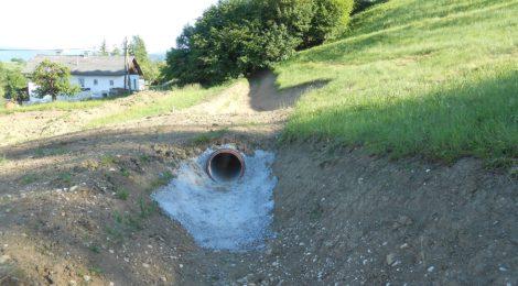 Entwässerung Gumpl